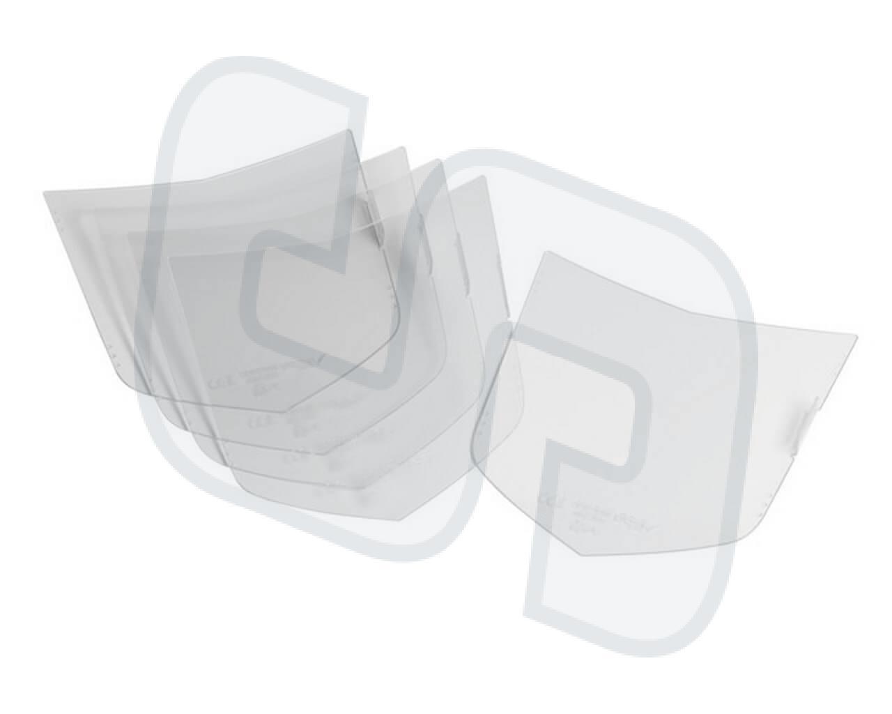 Vorsatzscheibe außen OPTREL P530, P550 5er-Pack