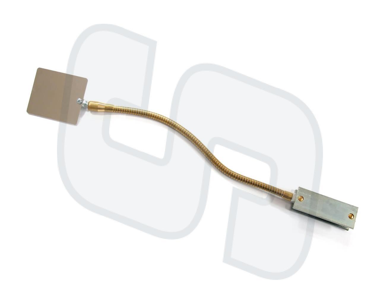 Magnet-Schweißspiegel Stahl 1.5mm / flexibel