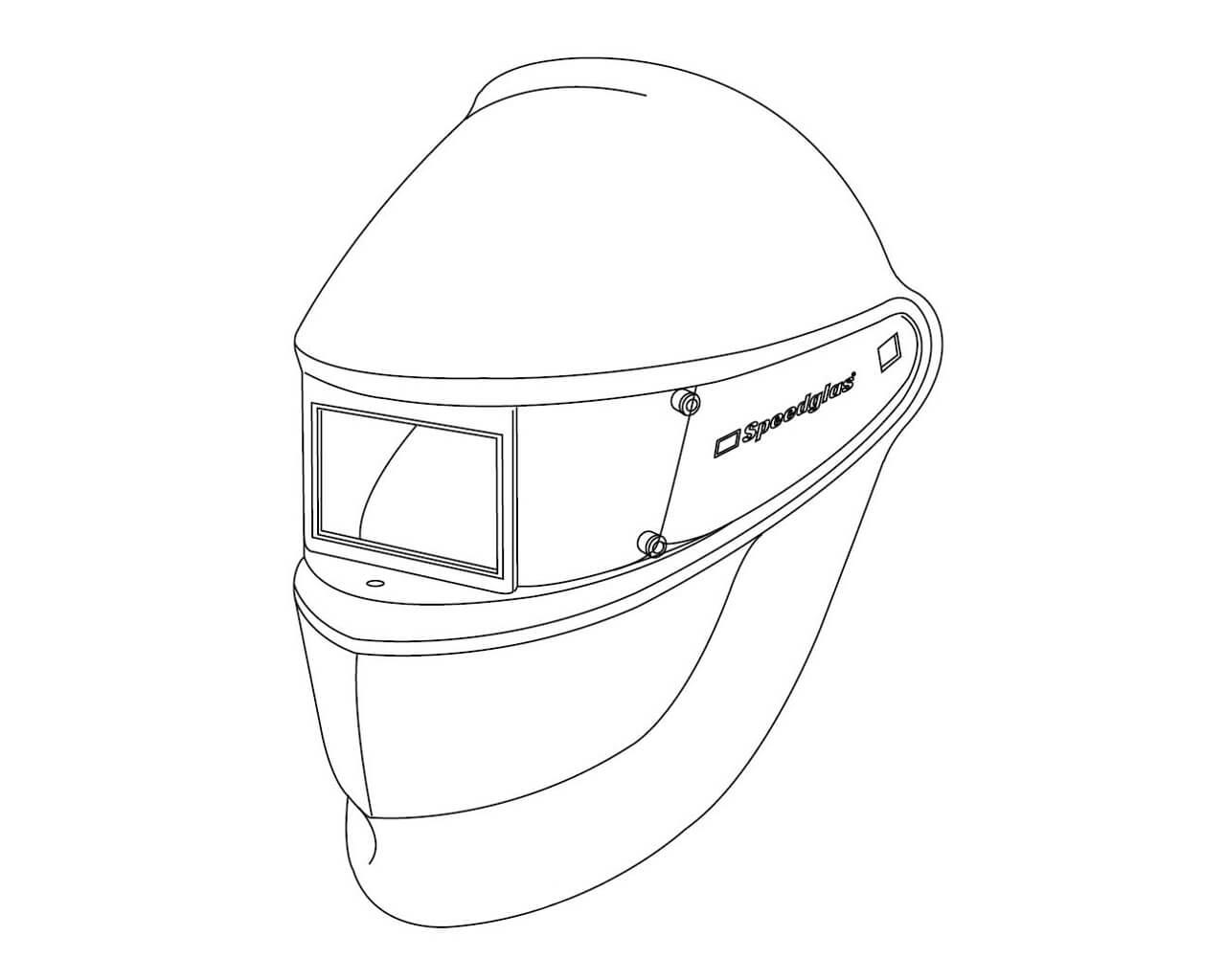Schweißmaske SPEEDGLAS SL ohne Kopfband