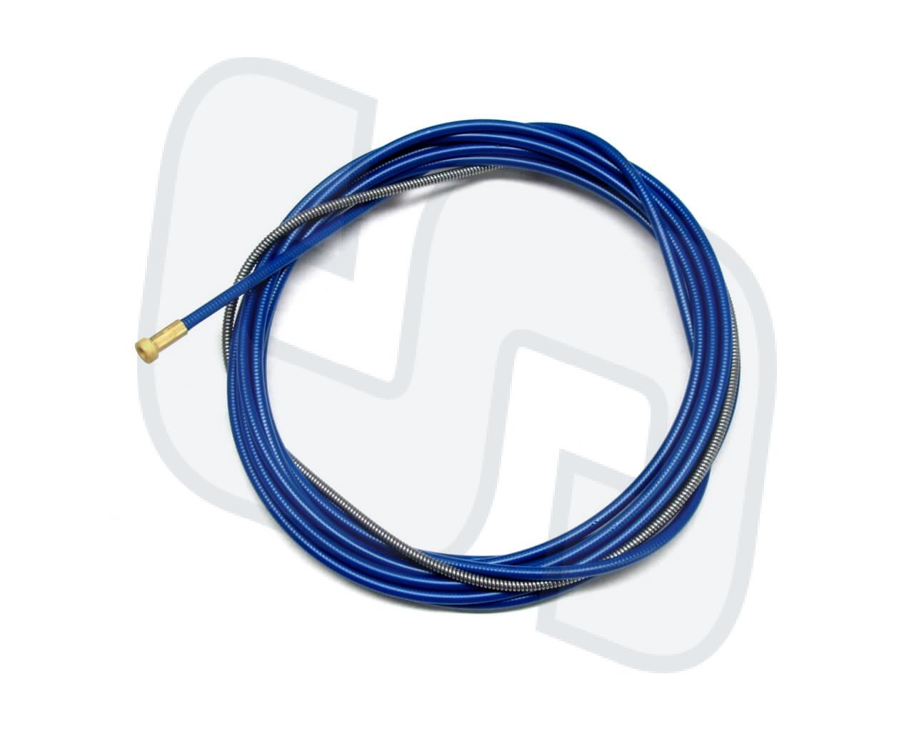 Drahtführungsspirale 1.5x4.5mm blau 3m. Für 0.8-1.0mm