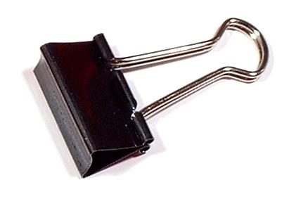 Halteklammer für Drahtreinigungsfilz