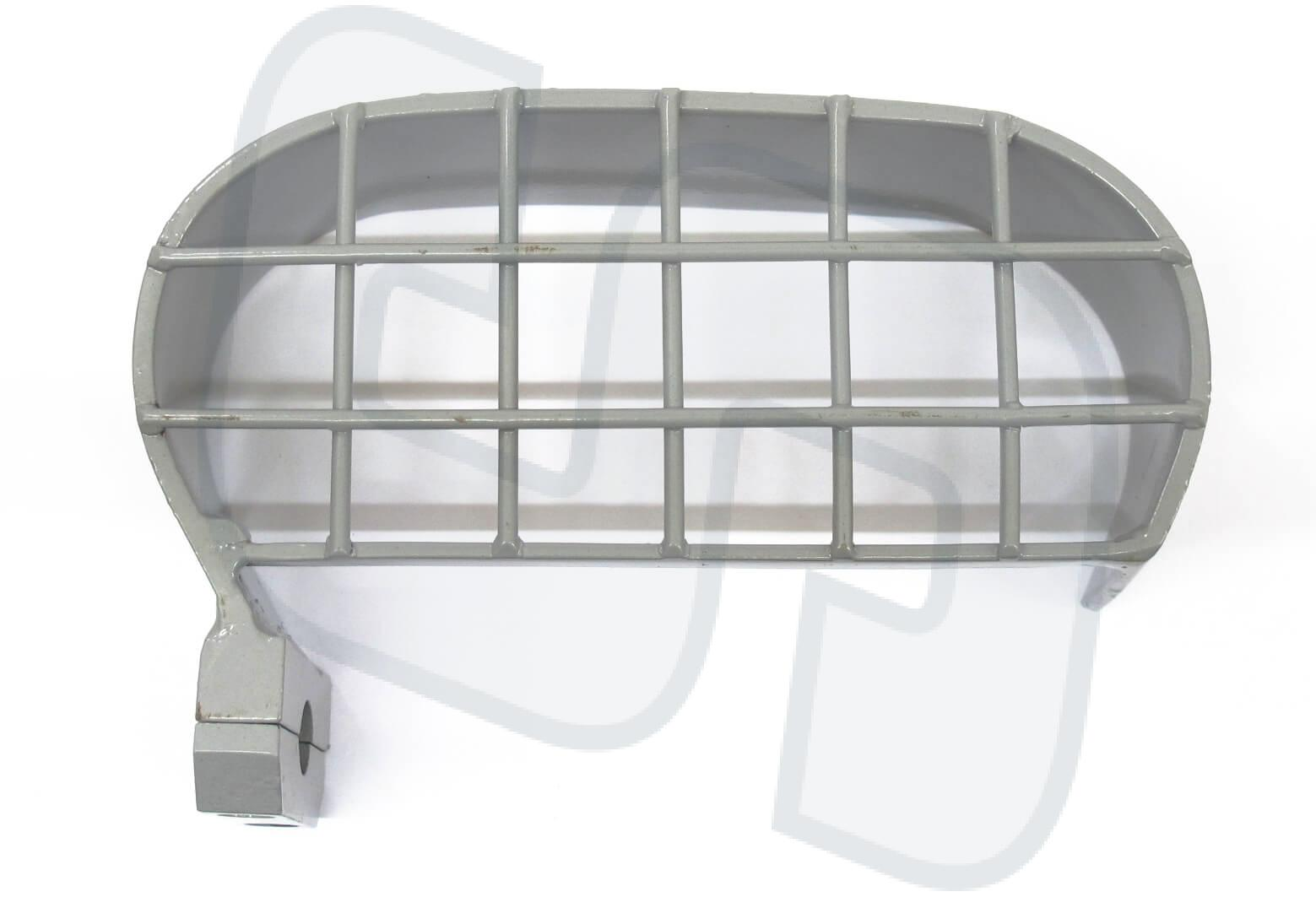 Schutzbügel für Druckminderer Argon/Co² mit Linksanschlag