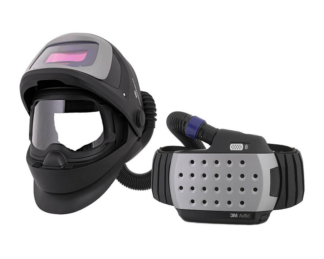 Schweißhelm SPEEDGLAS 9100XXi FX AIR mit ADFLO Atemschutzsystem
