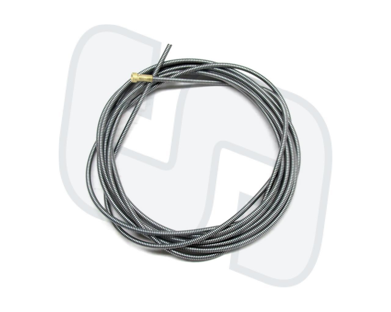 Drahtführungsspirale 2.0x4.5mm blank 3m. Für 1.0-1.2mm