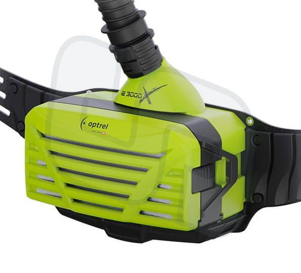 Optrel e3000x Gebläse-Atemschutzeinheit