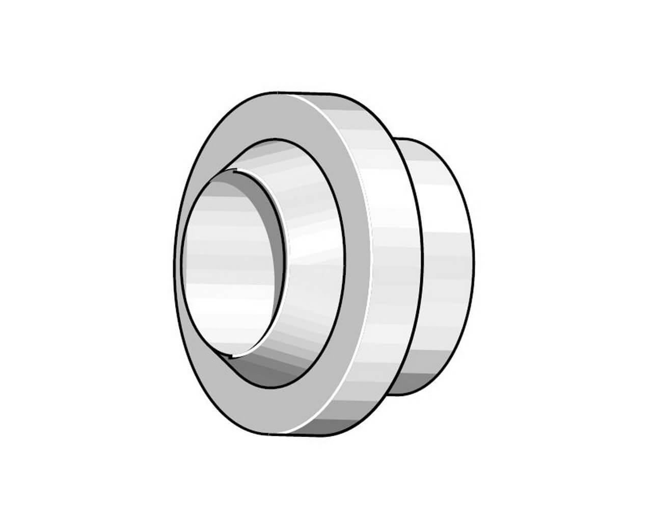 Isolator 17/18/26 GL 54N01 für Gaslinse