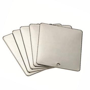 Ersatzschweißspiegel 70x80mm Stahl 1.5mm
