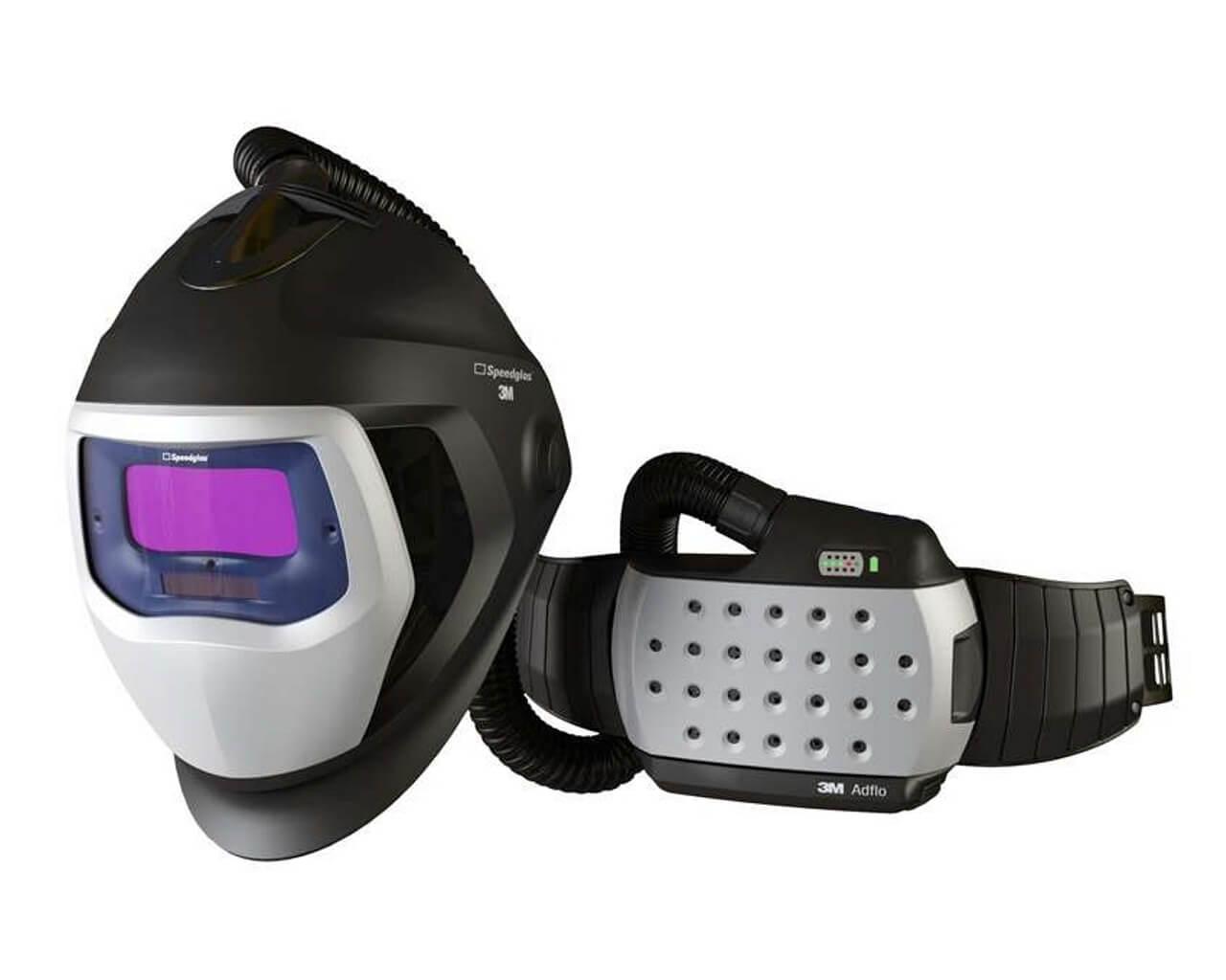 Schweißhelm SPEEDGLAS 9100X AIR mit ADFLO Atemschutzsystem